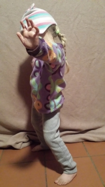 Ladybug in her size  4 - 5 year old tracksuit pants