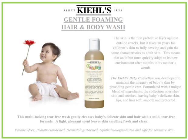 Kiehls baby wash
